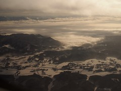 fog, cloud and snow (murozo) Tags: fog cloud snow winter rice field daisen akita japan 霧 雲 雪 冬 大仙 秋田 日本