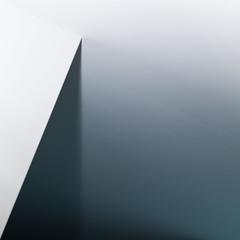 ceiling (zeh.hah.es.) Tags: weiss white grau gray grey blau blue schatten shadow wall wand decke ceiling kante edge minimal parallel diagonal vertikal vertical