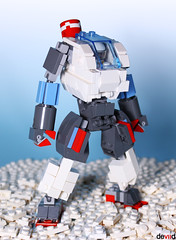 "D.Battle Suit - ""The Snowmech"" (Devid VII) Tags: battle suit devid vii mecha mech robot brick lego moc dbattle thesnowmech snow devidvii"