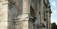 Columns and pilasters, Arch of Constantine