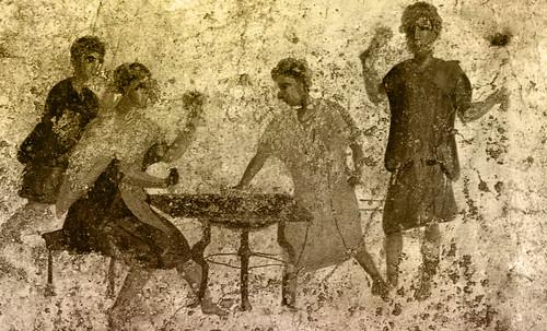 "Petteia - Ludus Latrunculorum  / Iconografía de las civilizaciones helenolatinas • <a style=""font-size:0.8em;"" href=""http://www.flickr.com/photos/30735181@N00/32143093050/"" target=""_blank"">View on Flickr</a>"