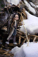 hunting (tehhishek) Tags: hunting ooak custom monster high eah school mattel kolofata doll aviator