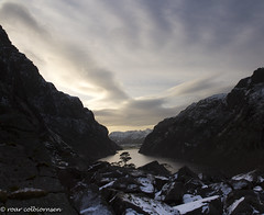 From the lookout (FotoRoar2013) Tags: 2017 rc fotoroar2013 fjord farger atmosfære atmosphere atmosfera atmosphère blue blått blusky canon colorfull color colors colores couleurs colori clouds cold interesting ice landscape lee moody mountain norway norwegen noruega norge norvegia nature natur norvege norwege outdoor photography rogaland vinter vann water winter weather