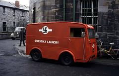 NOT a Swastika Laundry truck photo from 1912 (Jo Hedwig Teeuwisse) Tags: swastikalaundry truck nazi swastika dublin ireland history tv film misunderstood past 1912 1984 ww2 myth fake wrong