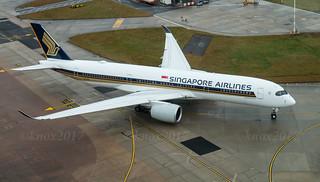 Singapore A350-900 9V-SMI
