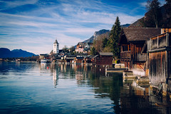 St Wolfgang, Austria - Wolfgangsee Lake