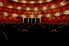 teatro colón l (juliayeger) Tags: teatro colon sala espectaculo buenos aires argentina elegante historico nacional arquitectura construccion francesa clasico luces asientos acustica diseño design arquitecture theatre argentinian most elegant breathtaking seats acustic acoustic velvet red lights french construction classic antique historic history prestigious gold oro bronce bronze