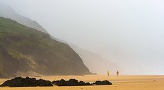 Fog at the Beach (Gilbert Kuhnert) Tags: algarve berg berge bergen cliff cliffs coastalline coastline cordoama felsen fog geel gelb gras grass green groen grün haze kustlijn küstenlinie landscape landschaft landschap lawn meer menschen mensen mist mountains nebel nevel people portugal praiadacordoama rasen rock rocks rots rotsen scenery sea steilekust steilküste viladobispo wasser water winter yellow zee beach cliffline hiver nature rotsachtigekust rotsigekust faro pt natur natuur