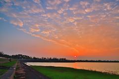 DSC_1194 (david linson) Tags: 美麗台灣 阿公店水庫落日 beautiful taiwan a gong shop reservoir sunset