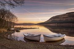 """Loch Serenity"" (Fiona Smith (Prev. Fiona McAllister Photography)) Tags: loch lochside scotland scottishlandscape sunrise sunrisecolours serene serenity tranquil boat fishingboat boats fionamcallisterphotography fionasmithphotography reflection reflections lake landscape britishlandscapes greatbritishlandscape"