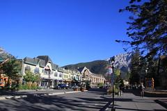 Banff High Street, Alberta, Canada. (Seckington Images) Tags: banff canada flickr