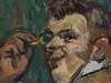 TOULOUSE-LAUTREC (de) Henri,1889 - Henry Samary (Orsay) - Detail 37 (L'art au présent) Tags: art painter peintre details détail détails detalles painting paintings peinture peintures 19th 19e peinture19e 19thcenturypaintings 19thcentury detailsofpainting detailsofpaintings tableaux orsay museum paris figure figures personnes people henridetoulouselautrec toulouselautrec henri henrysamary henry samary man men jeunehomme youngman homme jeunesse youth jeune young face visage monocle chapeauclac chapeau costume fashion mode uniform suit show spectacle comic fun drôle comique funny comédien acteur actor comedian player jeannesamary jeanne soeur sister brother frère jeannesamary'sbrother