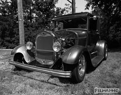 Classic Rod (FilmAmmo) Tags: paulhargett filmammo salinaks pentax6x7 mediumformat 120 ilfordpanf carshow