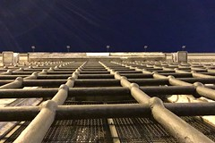 Out (Marco Di Battista) Tags: jail bars sbarre night fugue flight iphoneography