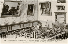 5527 R 53 CHÂTEAU DE CHAMBORD. - Modèles de matériel d'artillerie, offerts au Duc de Bordeaux. Artillery patterns, offered to the duke of Bordeaux. - ND (Morton1905) Tags: 5527 r 53 château de chambord modèles matériel dartillerie offerts au duc bordeaux artillery patterns offered duke nd