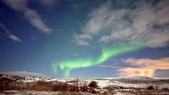 Green dragon (Iceland) (armxesde) Tags: pentax k3 ricoh iceland island winter night nacht nordlichter polarlichter northernlights polarlights aurora auroraborealis cloud wolke sky himmel