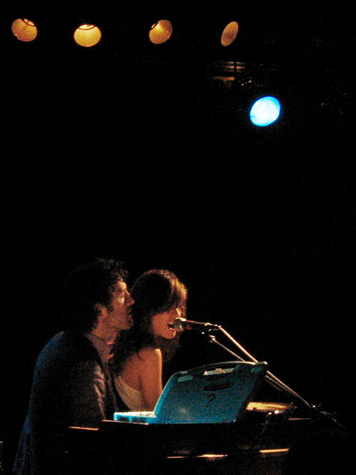 feist and jason collett - boston - paradise - feb 11th 2006