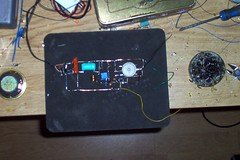 Superregen VHF Receiver of my own build! (psychopxray) Tags: aircraft receiver vhf airband