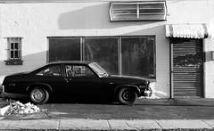 '76 Nova Cheap... Cheap (llimllib) Tags: nova car shadows decay highcontrast newhaven cheap