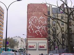 Jrme Mesnager, rue de Mnilmontant (tofz4u) Tags: house streetart paris maison mesnager immeuble artderue mnilmontant 75020 jrmemesnager lesgarsdemnilmontant