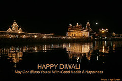 HAPPY DIWALI (Captain Suresh Sharma) Tags: moon india festival happy lights asia celebrations sikh punjab diwali festivaloflights goldentemple indianculture panjab indianheritage indianfairsandfestivals happydiwaliwishes welldecoractedgoldentemple goldentempleilluminated illuminatedgoldentempleondiwali diwaliatgoldentemple