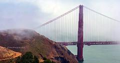Golden Gate Bridge (SLDdigital) Tags: sanfrancisco bayarea bay slddigital ca california bridge goldengatebridge structure fog coastalcities usa bridges bridgehuntercom seandickinson tourism