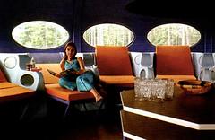 Дом летающая тарелка Futuro House Матти Сууронена