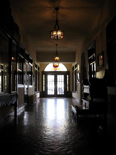 Hotel Paisano hallway