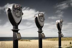 Three Binoculars Three (JMichaelSullivan) Tags: 2002 mamiya topf25 100v10f 10f binoculars capemay 200v 3000v m7 mamiya7 mjsfoto1956 1000v 400v 30f 20f 60f 50f 800v 40f 4000v 1600v 3500v