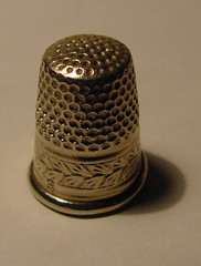 Thimble (coveman) Tags: thimble alloysmetal