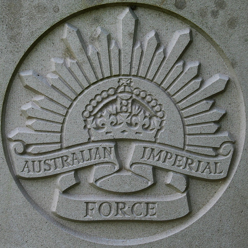 Australian imperial forces aif in france during ww1