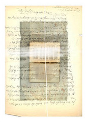 letters-in-a-book8 (Mary Bogdan) Tags: book artist quebec letters wwii religion poland warsaw spirituality thepleasuresofthetext exhibited shawinigan limitededitionprint marybogdan lettersinabook cosmogony exhibitedworks