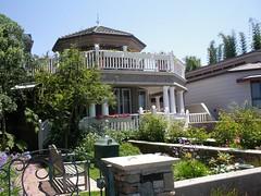 Home on Coronado Island,California (**Mary**) Tags: california usa house home garden bench sandiego balcony urbannature coronado railings gardenwall coronadoisland