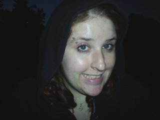 Me, goofy smile