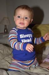 Sleepy Head (Erik R. Bishoff) Tags: hollander erik bishoff eugene oregon usa baby sleepyhead 3am insomnia son child 3 pajamas
