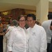 Martin Yan with Amy from Canapé Catering