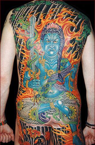Les tatouages des yakuzas. 39690633_91d1051d6c