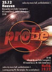 Probe, Helsinki, 1992