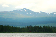 Mountains of Lappland (Airchild) Tags: sweden lappland mountains lake forest