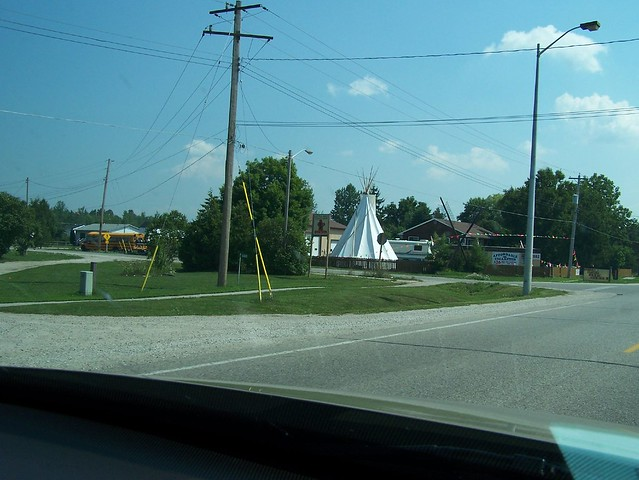 It's a big teepee