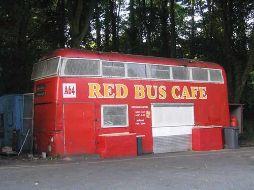 red bus cafe