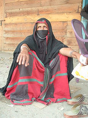 Old woman from a Rashida tribe (Vt Hassan) Tags: old portrait woman pose women image sudan hijab arab modesty dignity rashida theface burga