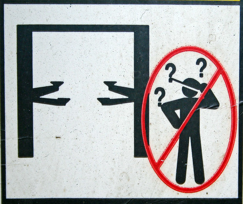 Caution - The Clueless Will Be Impaled
