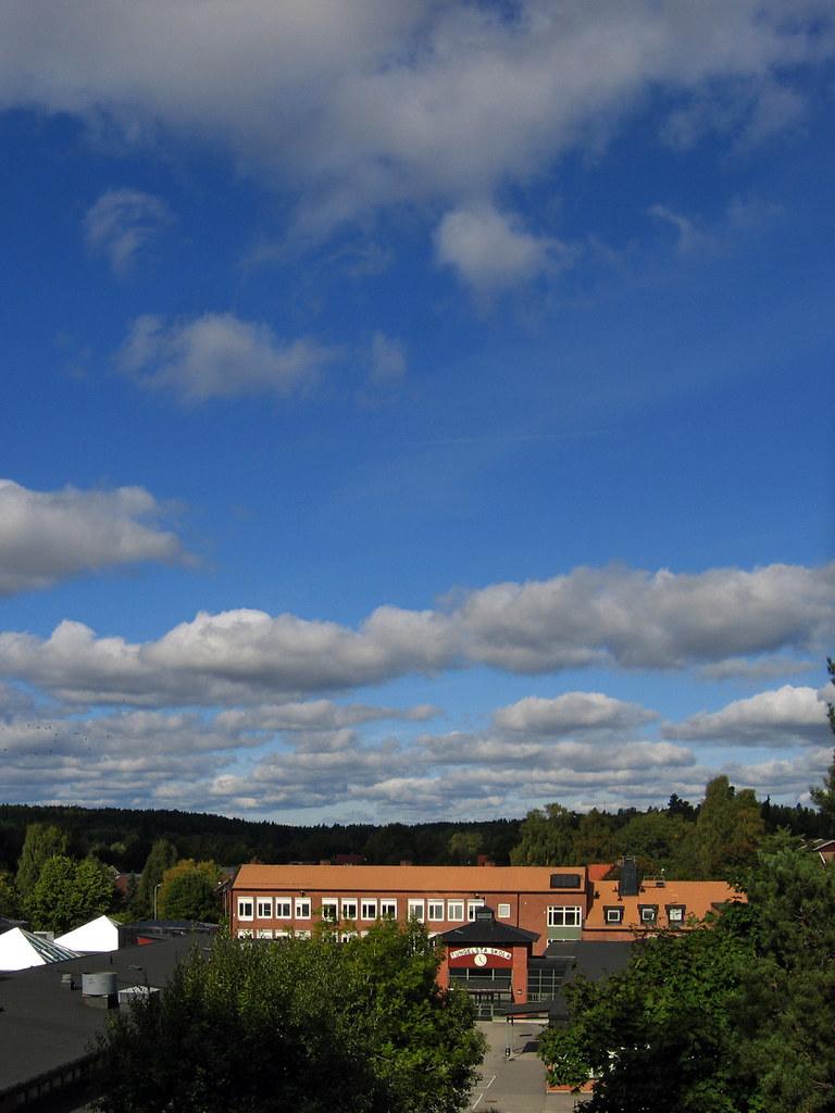Sky over school