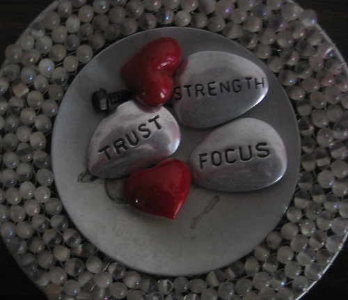stones talk: trust, strength, focus