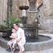 Gabbi and Joseph fountain in Ceret