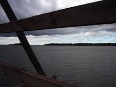 Gray Water (Jari Schroderus) Tags: sea bridge storm windy autumn fall maivanper raahe finland europe nature