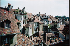 Bern Rooftops (catnipmusic) Tags: switzerland rooftops roofs scanned bern chimneys bigpicture2008