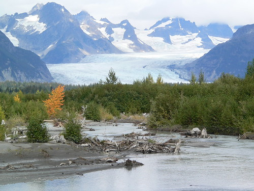 Sheridan Glacier and Sheridan River