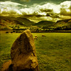 . Castlerigg . (3amfromkyoto) Tags: uk summer england sky lake mountains 2004 grass stone clouds standing circle geotagged sheep district lakedistrict july cumbria keswick castlerigg geo:lat=546023 geo:lon=30973 3amfromkyoto flickr:user=3amfromkyoto